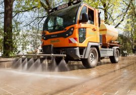 Sanitation Company Keeping Iasi Clean