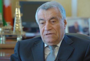 Natig Aliyev, Minister of Energy